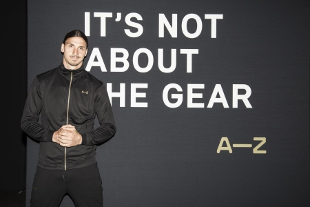 PARIS, FRANCE - JUNE 07: Zlatan Ibrahimovic attends the A-Z clothing line launch on June 7, 2016 in Paris, France.  (Photo by Francois Berthier/Getty Images) *** Local Caption *** Zlatan Ibrahimovic